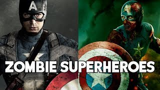 What IF Superheroes Were Zombies | Marvel & DC Comics | Avengers & Justice League | Infinity War