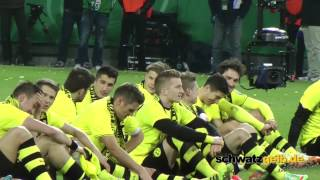 Dortmund - Wolfsburg Pokal Teil 2 Borussia Dortmund BVB Berlin, Berlin...