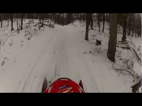 Cable WI Snowmobile Pro x rips up and Indy 500 on the lake.