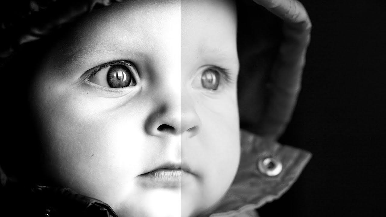 Black And White Face Portraits Black Amp White Portrait