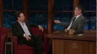 Tony Goldwyn on Craig Ferguson (01/17/2011)