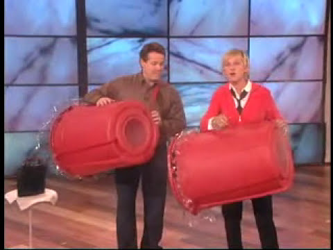 Steve Spangler on The Ellen Show September 2007
