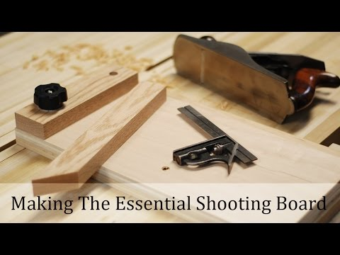 Making The Essential Shooting Board (EASY!)