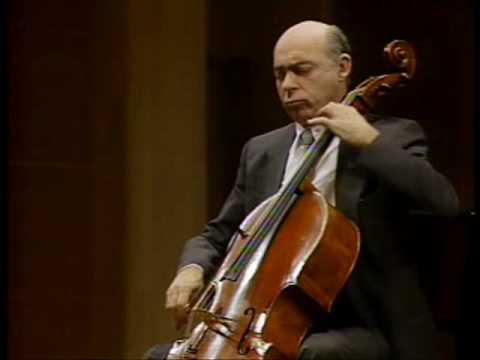 Janos Starker - Kodály Cello Solo Sonata II. Mvt
