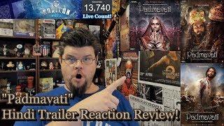 Download Padmavati - Hindi Trailer Reaction Review! |  Ranveer Singh | Shahid Kapoor | Deepika Padukone 3Gp Mp4