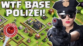 WTF BASE POLIZEI! || CLASH OF CLANS || Let