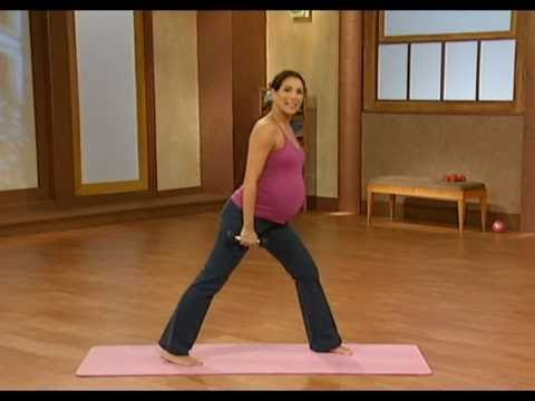 10 minute prenatal pilates part 1
