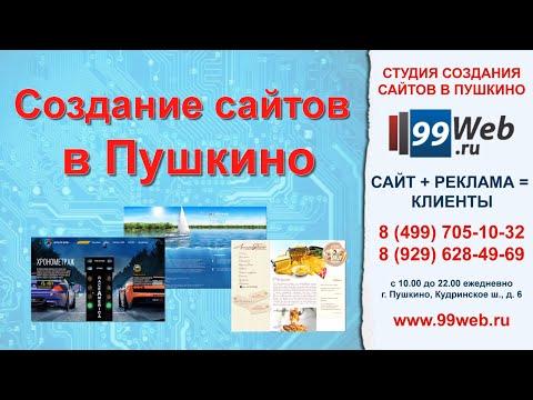 Создание сайтов в Пушкино - 99web.ru
