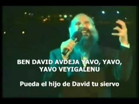 Mordechai Ben David-RAJEM letra español