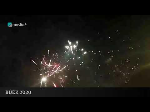 Újévi tűzijáték a Hősök terén 2020 - Budapest