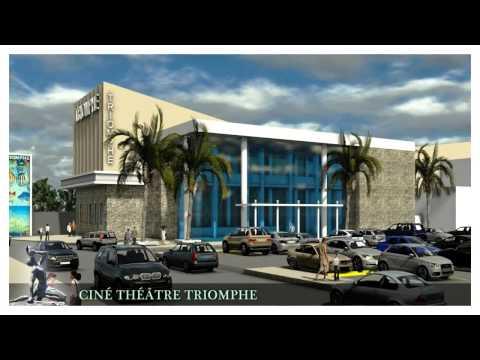 Nouveau Centre ville de  Port-au-prince