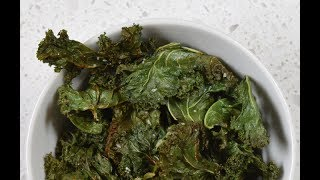 Jersey Fresh Salt and Vinegar Kale Chips