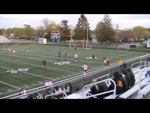 Middletown High School vs St Marks High School Girls Varsity Soccer 4-22-2013 - 04/28/2013