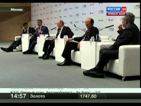 Путин подколол Нобелевского лауреата и получил ответ