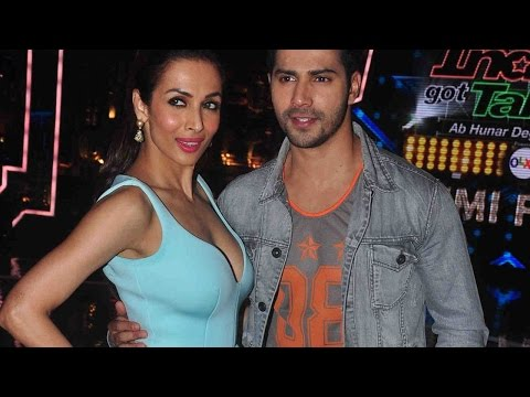 Varun Dhawan's ABCD 2 Promotions With Malaika Arora Khan & Karan Johar At India's Got Talent