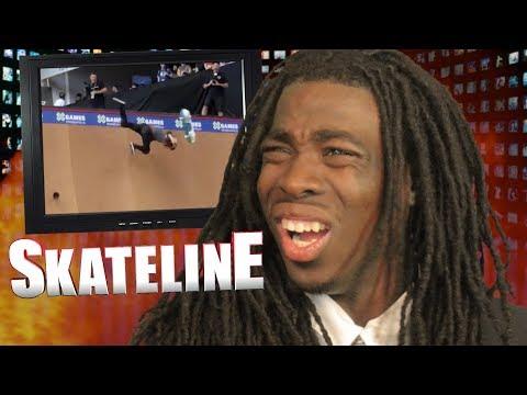 SKATELINE - CJ Collins Pro, Deedz, Yuri Facchini Dubstep, Trey Wood Vs Jake Brown Fall