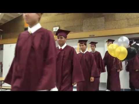 2014 8th Grade Graduates @ Challenger School Almaden