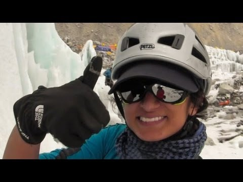 First Saudi woman to scale Mt. Everest