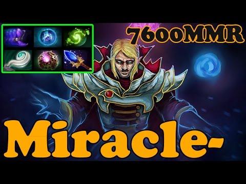 Dota 2 - Miracle- 7600 MMR Plays Invoker vol 13# - Ranked Match Gameplay