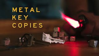 Duplicating a Key Using Molten Metal (with LockPickingLawyer)