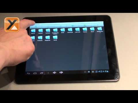 How to access your MicroSD card or USB drive on your Yarvik Tablet