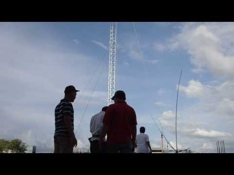 SPIDER BEAM Antenna YB6AO - NJ75pn Project - DX Aceh Group