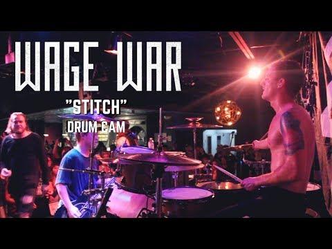 Wage War // Stitch // LIVE DRUM CAM thumbnail