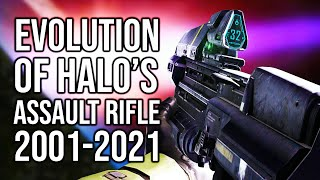 The evolution of Halo's Assault Rifle | Let's take a look at every version of the Halo AR