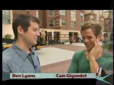 Cam Gigandet interview on set of The Roommate Video