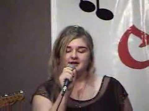 Briana-Singing, Stand By Your Man by Tammy Wynette