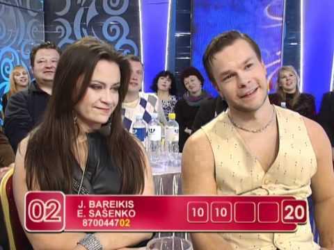 """Evelinos ir Jokūbo """"žemaitiška"""" daina bei Mariaus ir Irūnos """"čigoniškas"""" duetas (5 laida)"""