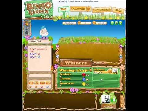 Bingo Garden - Facebook App