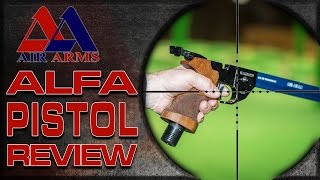 Air Arms – Alfa Pistol 10 Metre Shooting