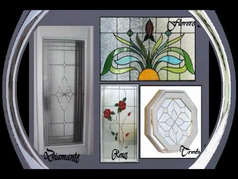 De madera vitrales serviconp stained glass doors youtube