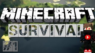 Minecraft Survival Let's Play Ep 1 - Exploring The World  Of Minecraft