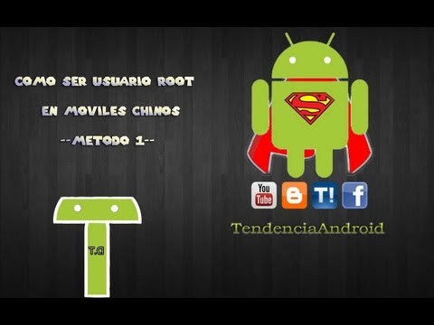 Como ser Root en moviles Chinos MT65xx - Metodo 1/7