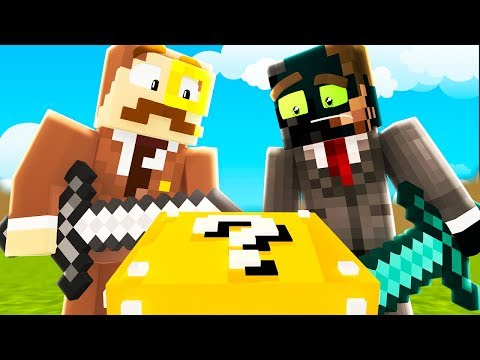 NEW EPIC SKY WARS LUCKY BLOCK (Hypixel Minecraft Funny Moments)