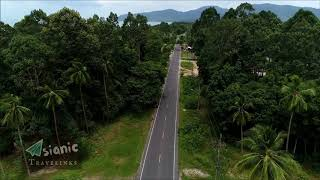 Thailand, Khanom -Beach Road- FB page: Asianic Travelinks, Music by FRAMETRAXX