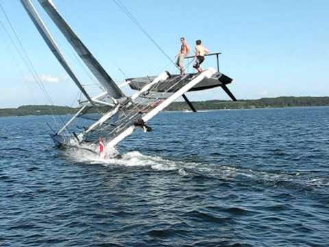 Extreme Catamaran Sailing (Stars & Stripes) Just another day...