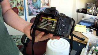 How to Use the Nikon d5100 Part 1/2