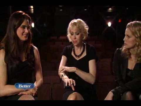 Brooke Shields, Julie Halston, and Anna Chlumsky discuss Love, Loss, and What I Wore Video