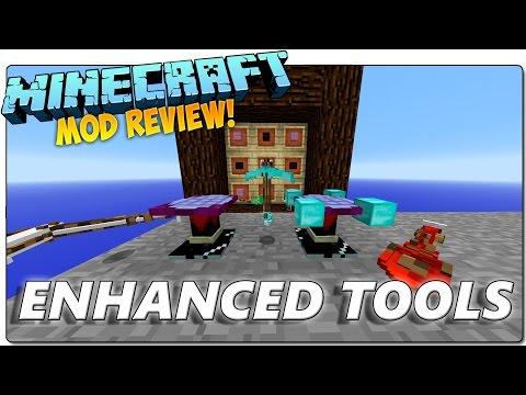 ENHANCED TOOLS MOD MINECRAFT 1.9 ESPAÑOL   ¡Armas y herramientas de bloques!   MINECRAFT MODS