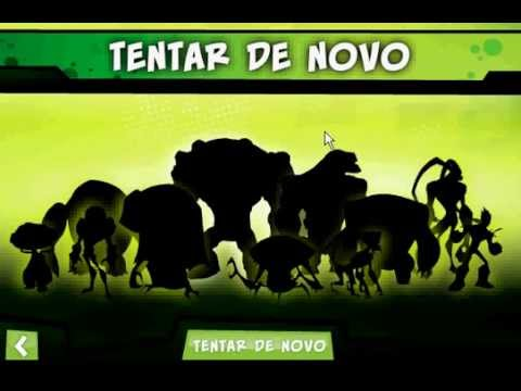CN Jogo do ben10 como jogar