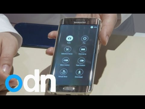 Samsung unveils its curvy new smartphone the Galaxy S6