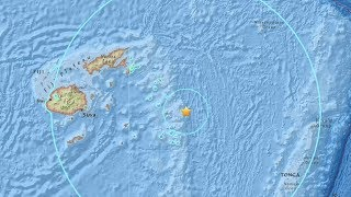 M8.2 quake strikes in the Pacific, no damage expected