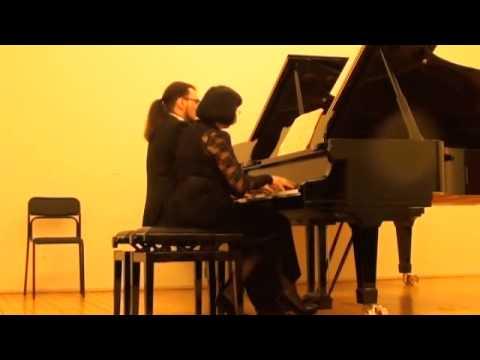 Шуберт, Франц - Фуга ми минор для фортепиано в 4 руки