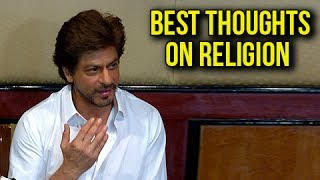 Shahrukh Khan Best Thoughts On Religion - Teaches Mahabharata To Children