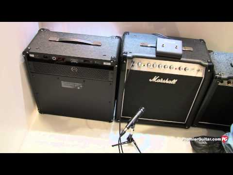 NAMM '13 Marshall Slash SL5