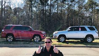 Comparing 2019 4Runner SR5 vs 4Runner Limited: How to pick one!