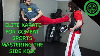 Side Kick Sparring Drills Basic to Advanced - Elite Karate for Combat Sports